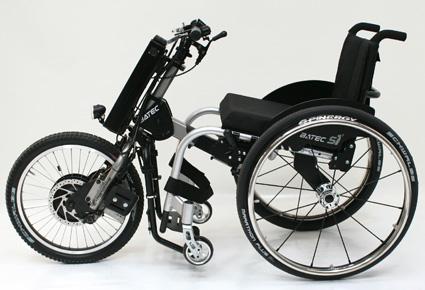 silla de ruedas handbike