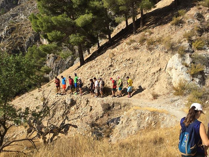 Foto de la Fundación Deporte y Desafío: ruta Boabdil