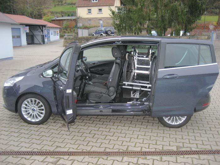 Ladeboy s2 interesante adaptaci n para guardar la silla for Sillas para vehiculos